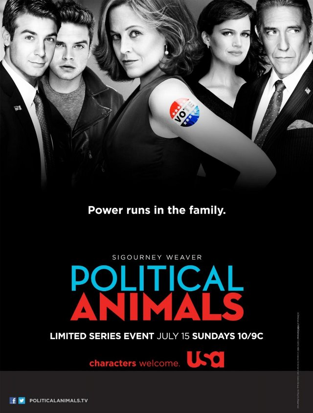 Urban Myth Club feature on Political Animals (Sigourney Weaver)